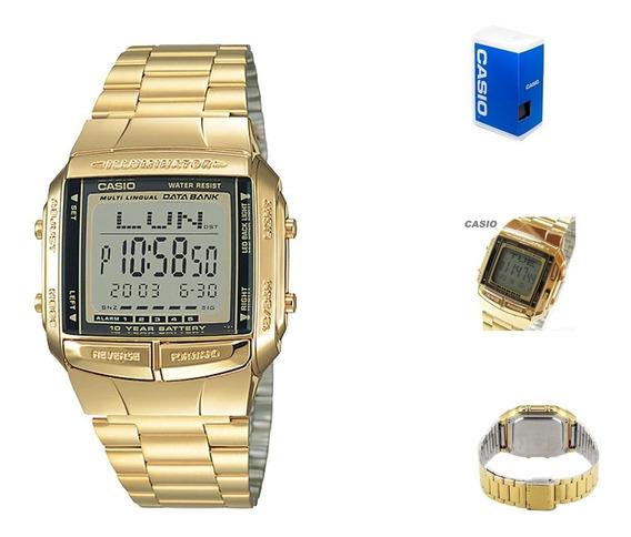 Reloj Casio Vintage Db360 9a Unisex Dorado *watchsalas*