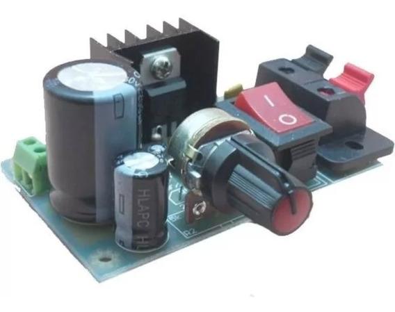 Fonte Ajustável (regulável) C Lm317 - Kit P Montar