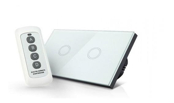 Switch De Luz Tactil Wireless Doble Incluye Control Remoto ®