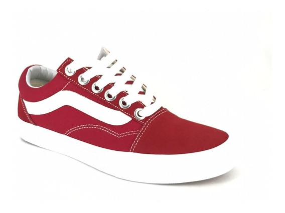 Vans Old Skool Tinto-blanco Original Vn038g1vg4
