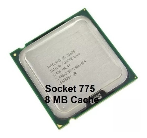 Processador Intel Core 2 Quad Q6600 2,4ghz 775 1066mhz Fsb
