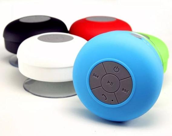 2 Caixa Caixinha De Som P/ Banheiro Bluetooth Prova De Aguá