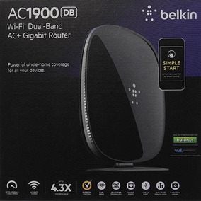Roteador Belkin Ac1900 Db Router Wi-fi Dual Band Ac+