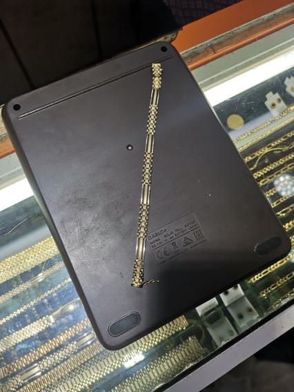 Pulsera Oro Rolex 18cm Original 14k