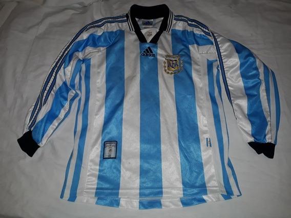 Camiseta Afa 1998 Talle M Mangas Largas Origi