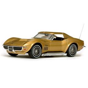 Miniatura Carro Vitesse Corvette Coupe-reverside 1969 Escala