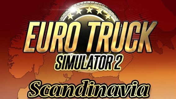 Euro Truck Simulator 2 - Scandinavia Dlc Steam Cd Key