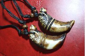 Colar Corda Pingente Tribal Surfista Amuleto Tartaruga Joia