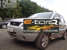 Sucata Eco Sport 1.6 Xlt 2007 Completa