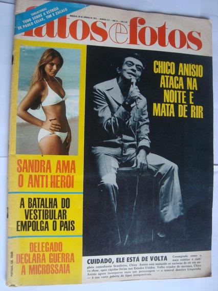 Revista Fatos Fotos 572 Jan 72 Chico Anizio Futebol Carioca