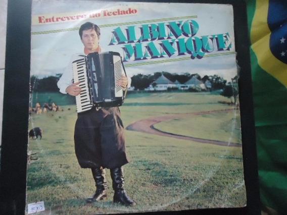 Disco Vinil Lp Albino Manique Entrevere No No Teclado ##