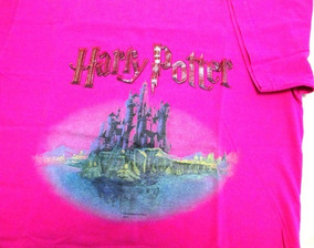 A8864 Camiseta Mangas Curtas Harry Potter And Sorcerer´s S