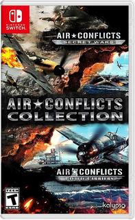 Air Conflicts Collection Nintendo Switch Nuevo Sellado