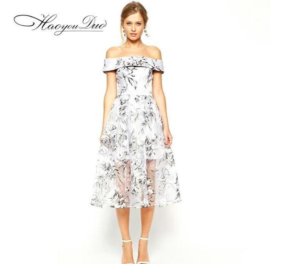 Vestido De Fiesta Hermoso Elegante