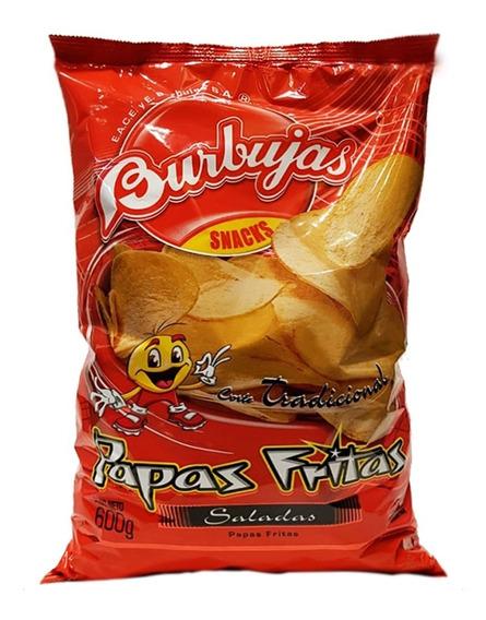Snack Papas Fritas Bolson 600gr - Barata La Golosineria