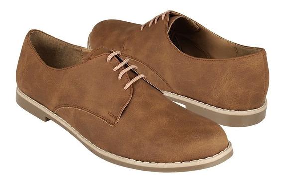 Zapatos Stylo 1902 Simipiel Camel