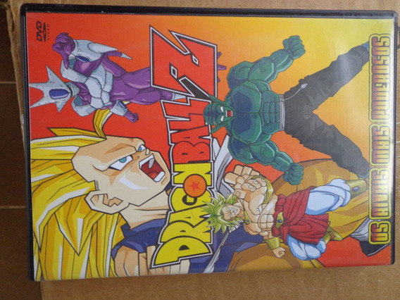 Dragon Ball Z Os Rivais Mais Poderosos Dvd Original $10 Lote
