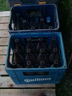 Cajón De Cerveza Más Botellas Vacías No Envíos