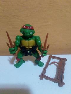 Rafael Raphael Soft Head Tortugas Ninja Tmnt Playmates 1988