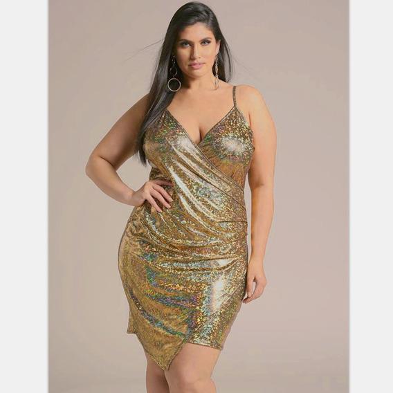 Vestido Verano Dorado Cuero Sexy Vaina Sin Mangas Espaguetis