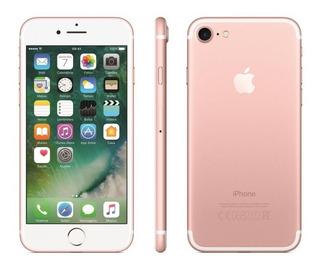 iPhone 7 Ouro Rosa Tela 4,7 4g 32 Gb Câm 12 Mp Novo Lacrado