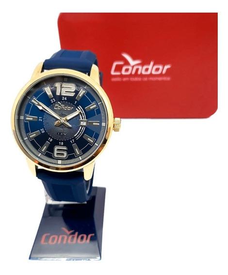 Kit Relógio Masculino Condor Co2115yg/k8a