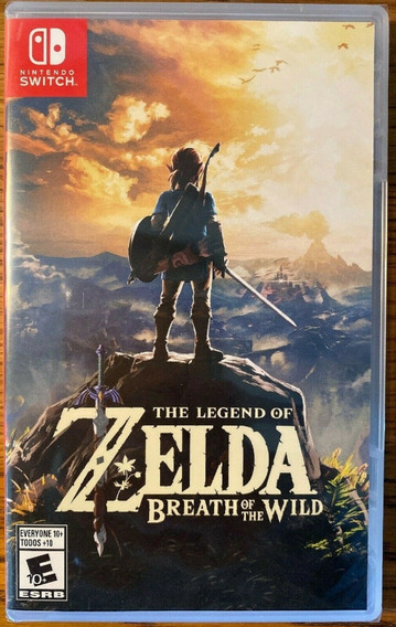 Jogo Nintendo Switch Zelda Breath Of The Wild