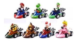 Carros Mario Kart Super Mario Bros Colección Completa