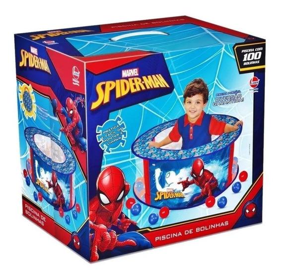 Piscina De Bolinhas Homem Aranha Com 100 Bolinhas Líder