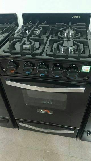 Cocina Motta Pro 520 Acero O Negra