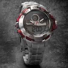 Relógio Condor Masculino Anadigi Co1154br/3r - Prata