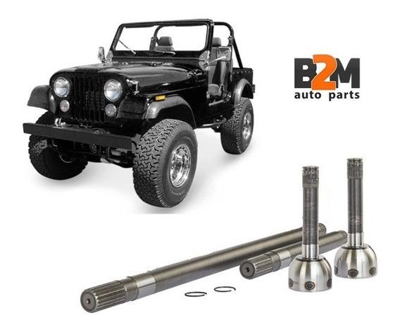 Eixo Dianteiro Jeep Willys Completo Pecas De Carros E