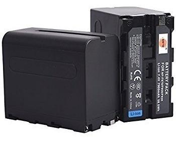 Kit Com 2 X Baterias F970 + 1 X Carregador