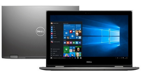 Notebook 2 Em 1 Dell I7 7500u 7th 8gb Ddr4 Hd 1tb 13.3 Fhd