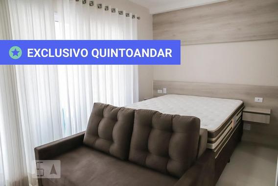 Studio No 19º Andar Com 1 Dormitório E 1 Garagem - Id: 892940434 - 240434