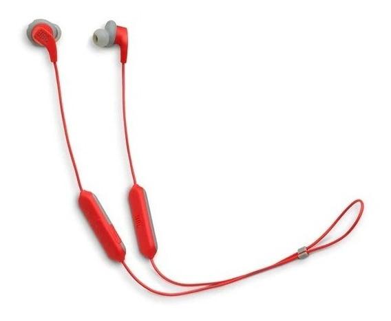 Fone De Ouvido Jbl Endurance Run Bt Bluetooth Com Microfone Esportivo Vermelho