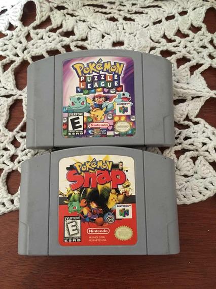 Nintendo N64 Cartuchos Pokémon