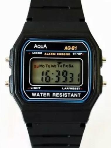 10 Relógio Original Aqua Masculino A Prova Dagua Sortidos