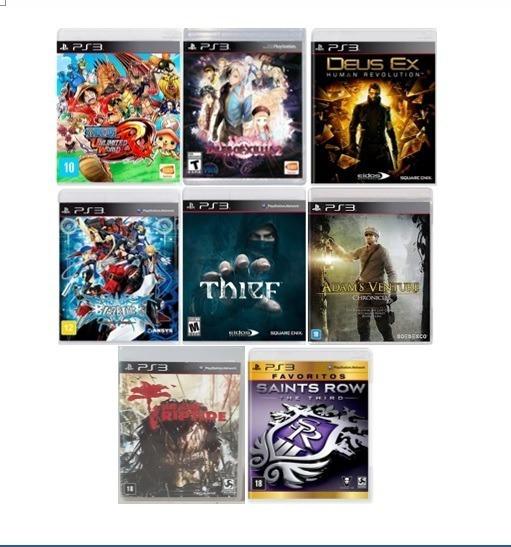 Lote Jogos Ps3 Originais E Lacrados (novos)