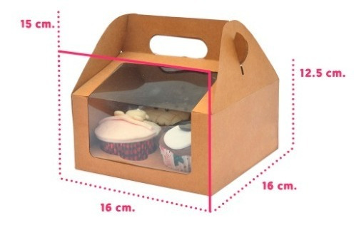 Cajas Cupcake Panques Kekos Muffins Lonchera Boxlunch 4 Cavs