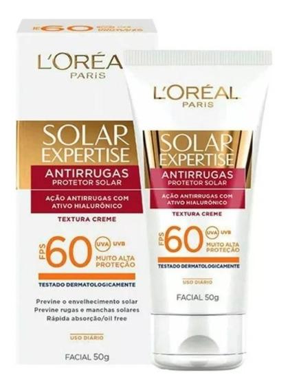 Loreal Protetor Solar Facial Antirrugas Fps 60 50g