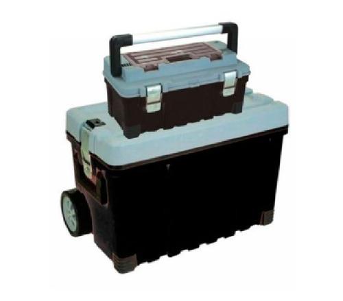 Carro 26   + Caja Herram Plastica Reforzado Udovo Ferr Tigre