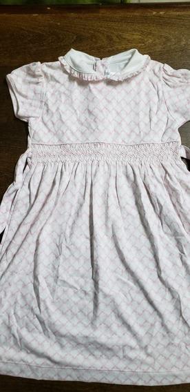 Vestido Baby Cottons Talle3 Algodón Peruano Suave Hipoalerge