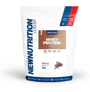 Whey Protein New 900g Aumento De Energia E Massa Muscular