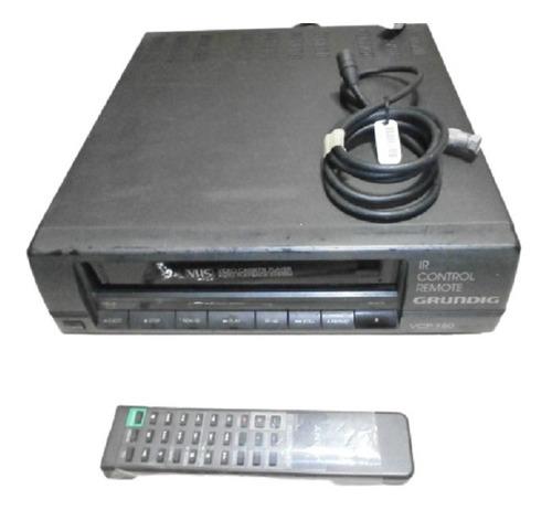 Vhs Video Cassette Grundig Modelo Vcp 180