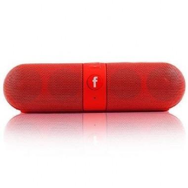 Caixa Som Portatil ( 8w)(vermelho)(usb/bluetooth/fm/sd)xtrad