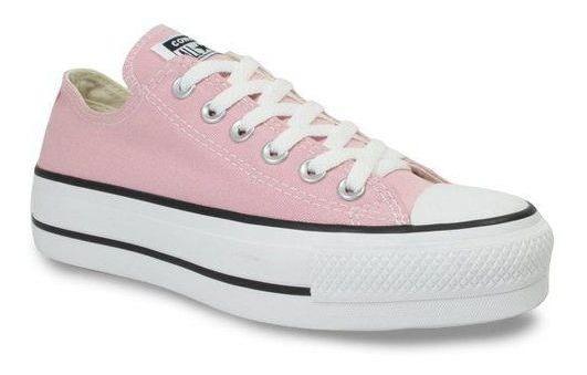 Tênis Converse All Star Flatform Rosa Feminino Ad