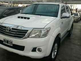 Toyota Hilux 3.0 D4-d Dc 4x4 Tdi Srv Cuero L/12 2012