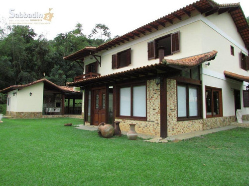 Casa Residencial À Venda, Secretário, Petrópolis. - Ca0302