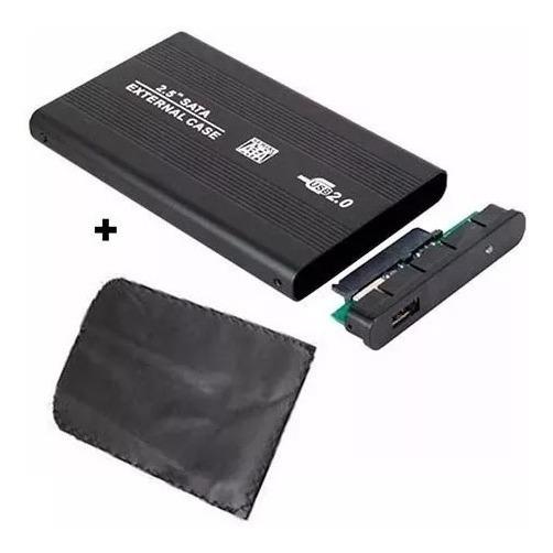 Case Gaveta Hd Ssd Sata Notebook Usb Externa Pc Xbox Ps3 Wii T2